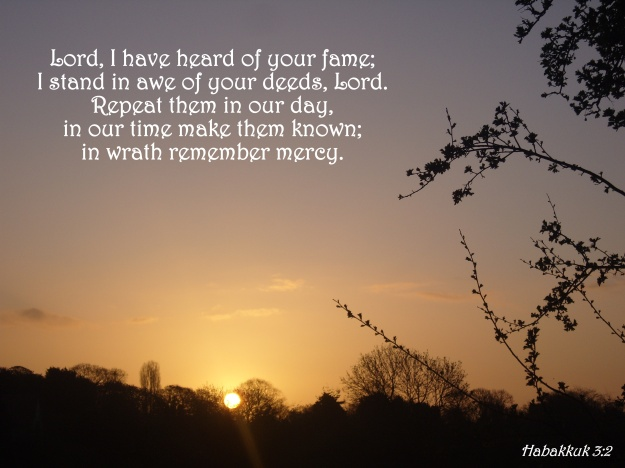 Habakkuk 3:2