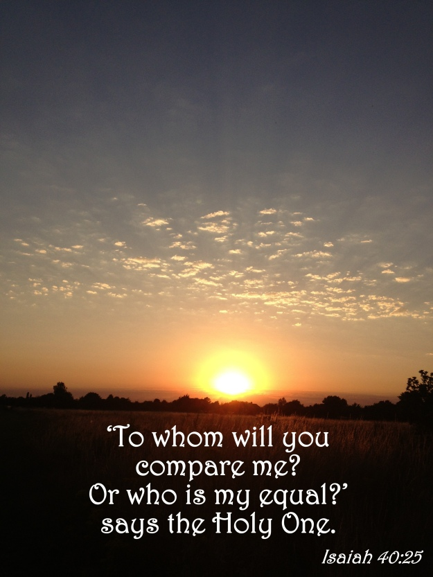 Isaiah 40:25