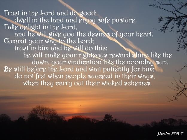 Psalm 37:3-7