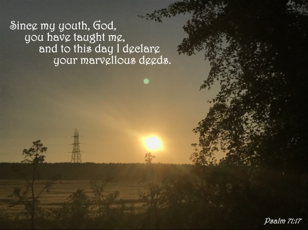 Psalm 71:17