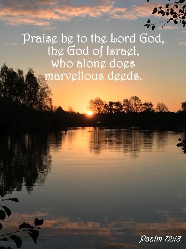 Psalm 72:18