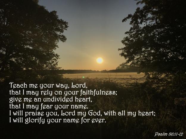 Psalm 86:11-12