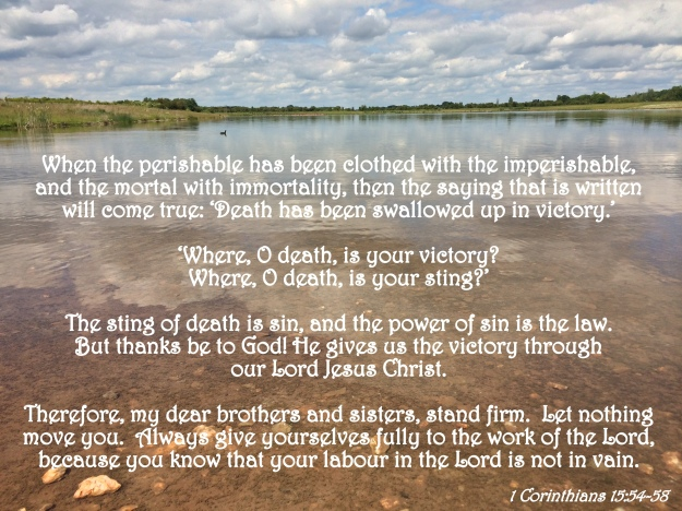 1 Corinthians 15:54-58