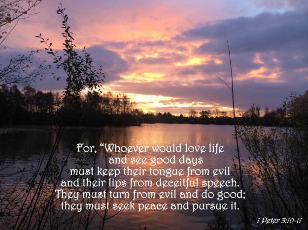 1 Peter 3:10-11