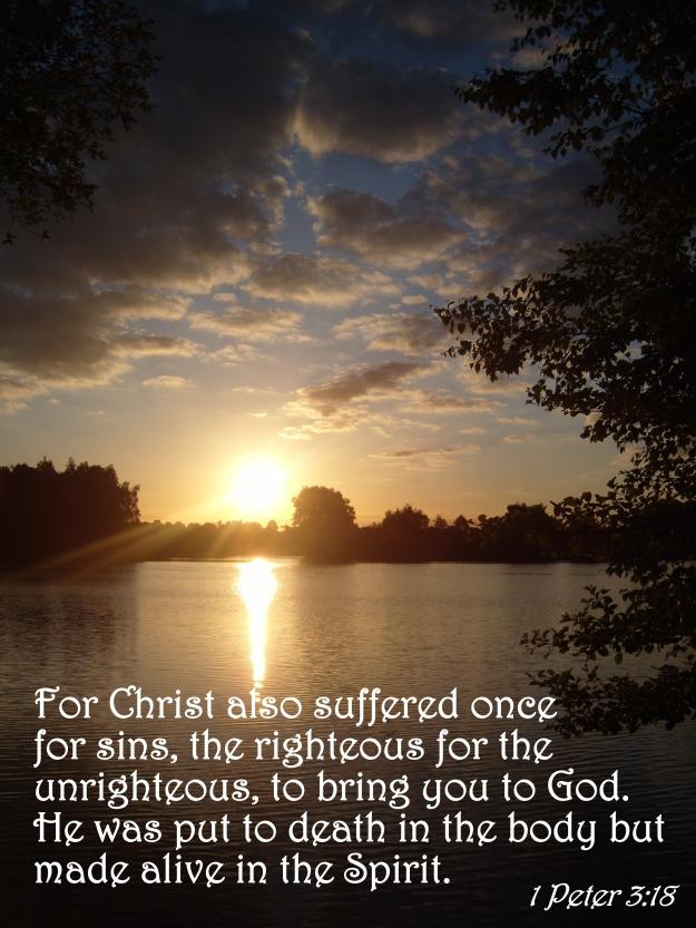 1 Peter 3:18