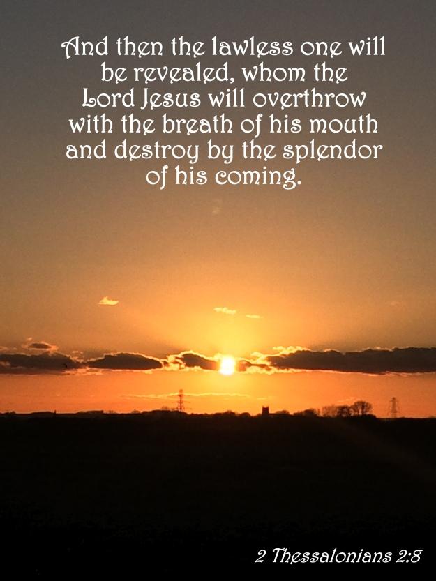 2 Thessalonians 2:8