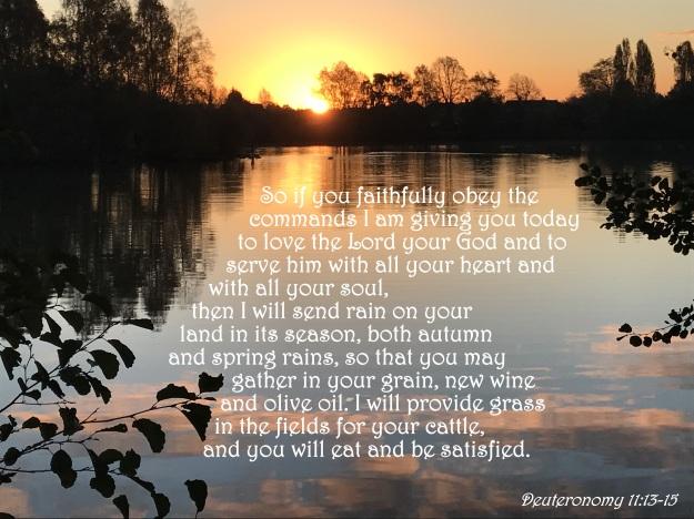 Deuteronomy 11:13-15