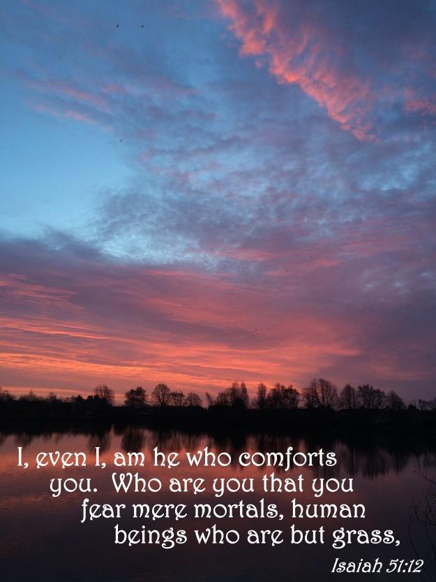 Isaiah 51:12