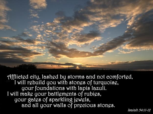 Isaiah 54:11-12