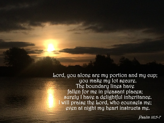 Psalm 16:5-7