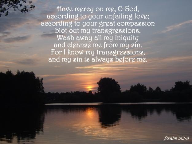 Psalm 51:1-3