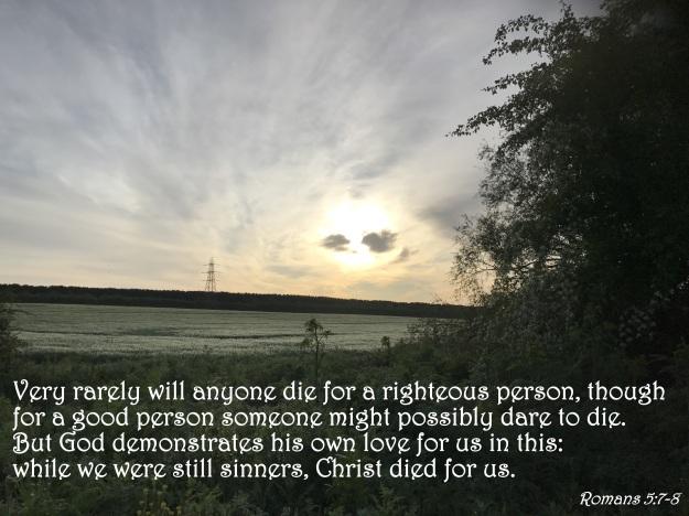 Romans 5:7-8