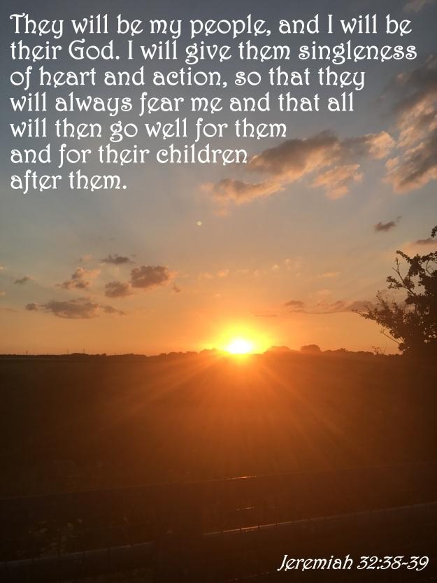 Jeremiah 32:38-39