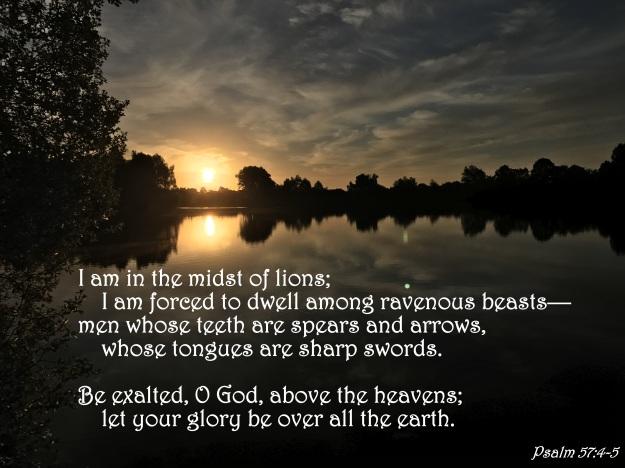 Psalm 57:4-5