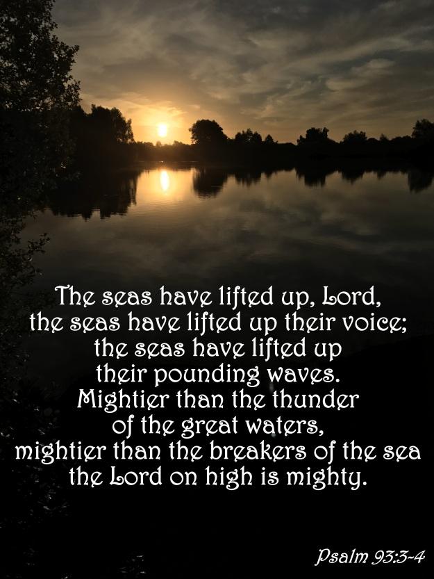 Psalm 93:3-4