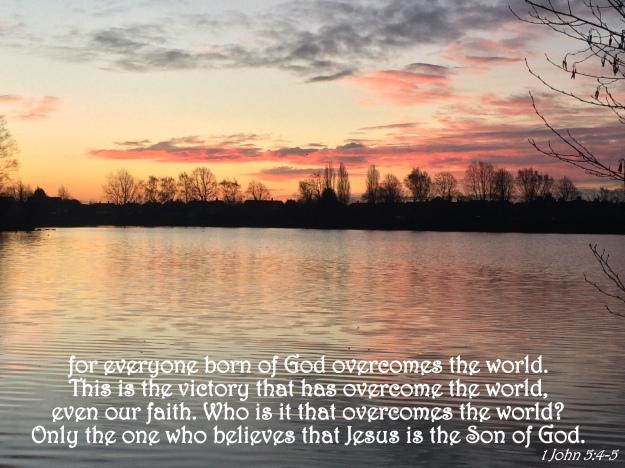 1 John 5:4-5