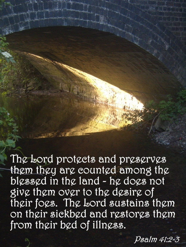Psalm 41:2-3