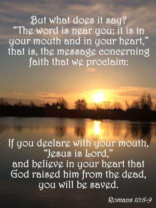 Romans 10:8-9