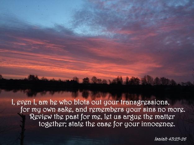 Isaiah 43:25-26