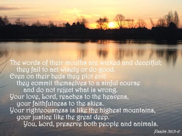 Psalm 36:3-6