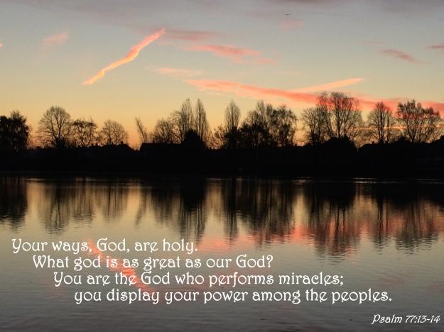 Psalm 77:13-14