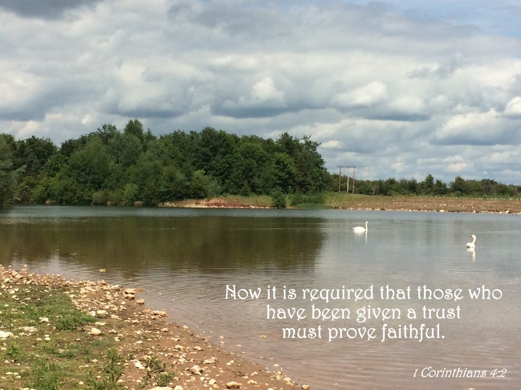 1 Corinthians 4:2