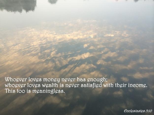 Ecclesiastes 5:10