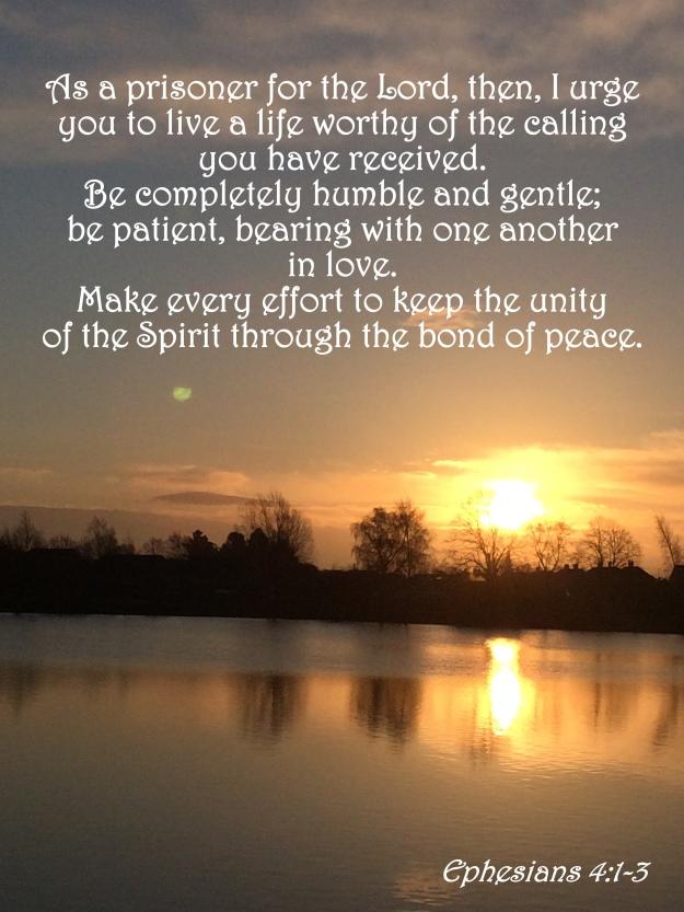 Ephesians 4:1-3