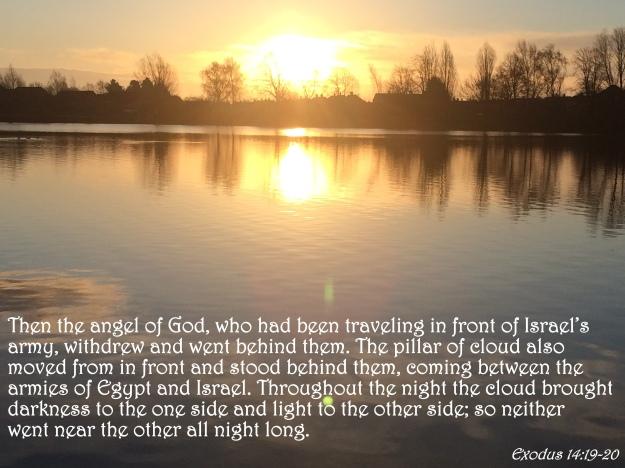 Exodus 14:19-20