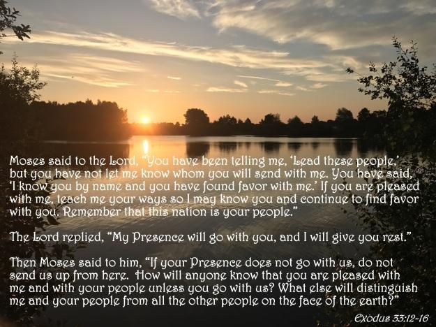 Exodus 33:12-16
