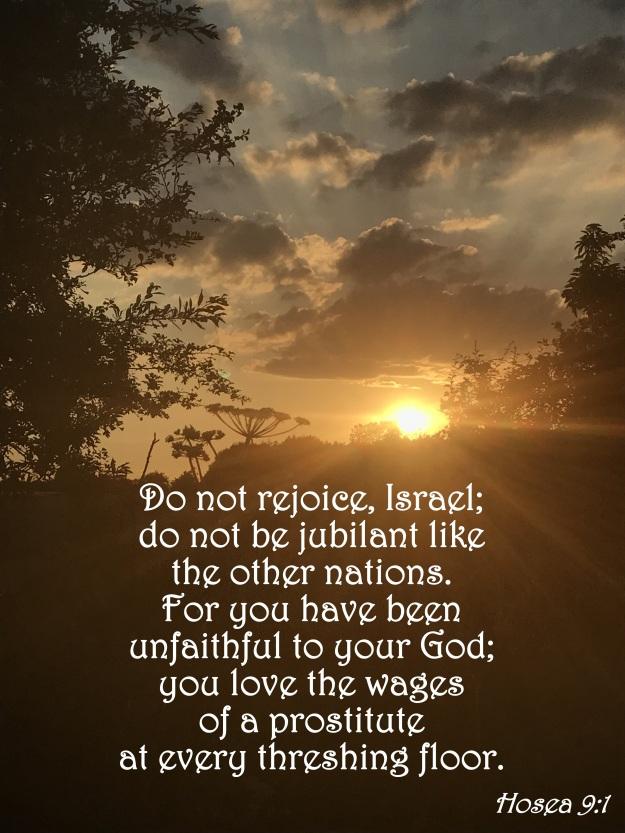 Hosea 9:1