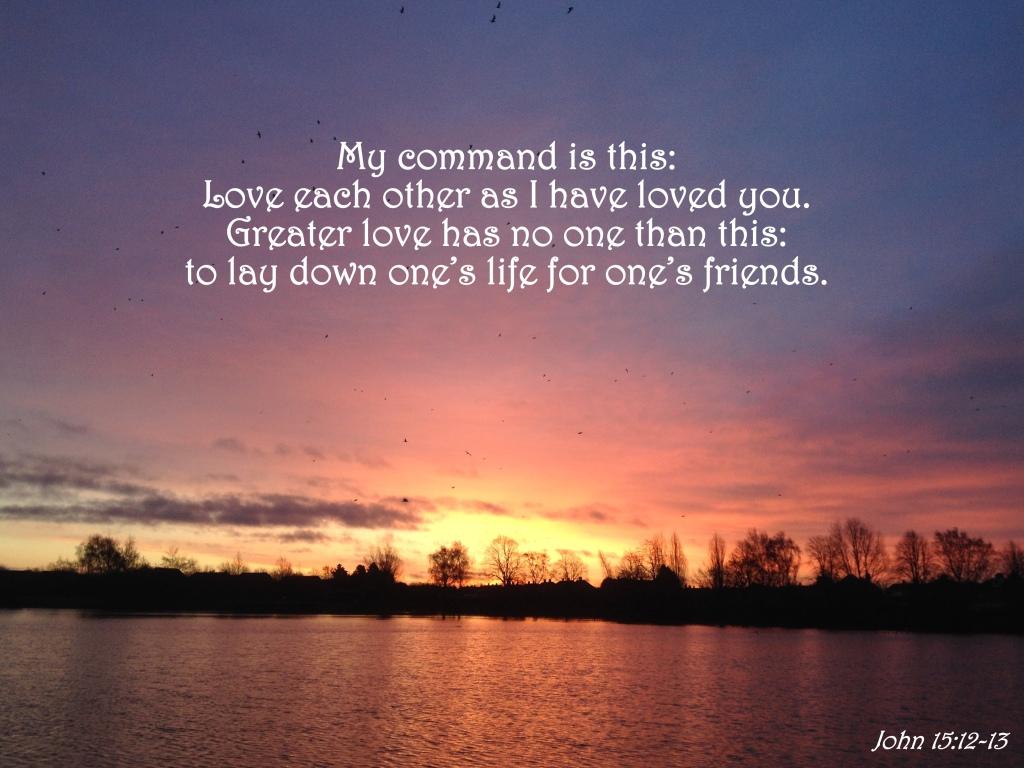 John 15:12-13