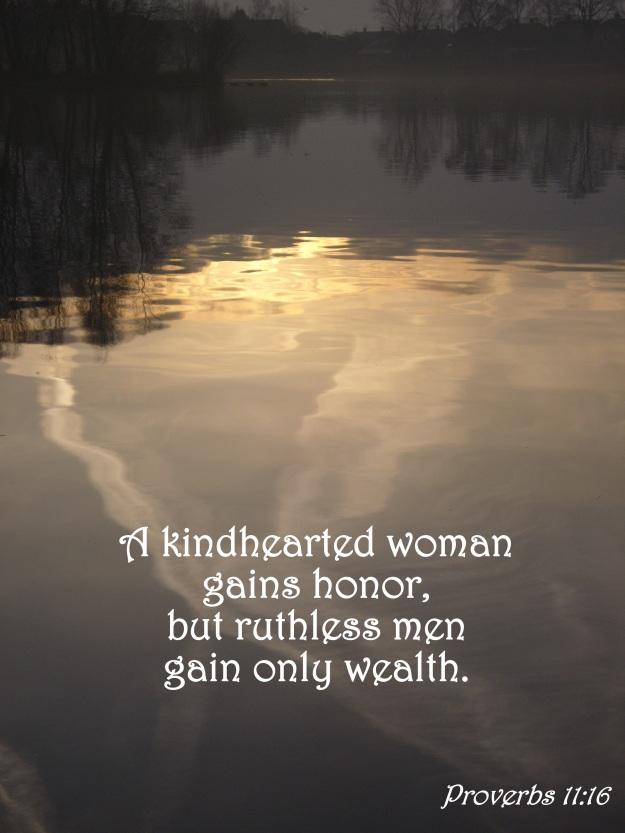 Proverbs 11:16