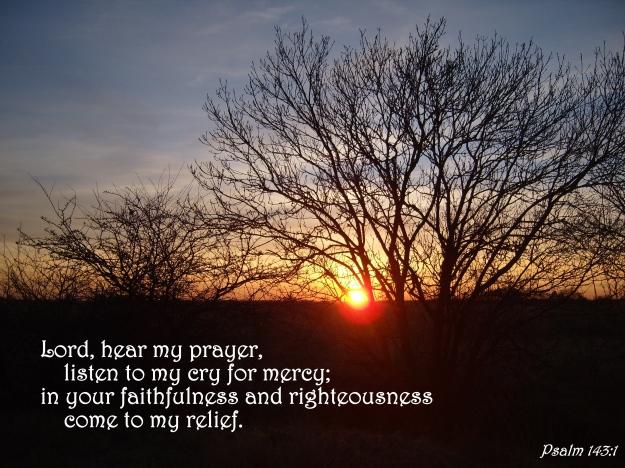 Psalm 143:1