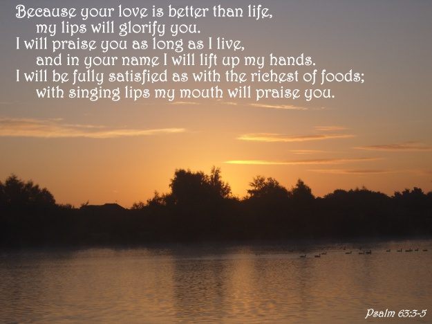 Psalm 63:3-5