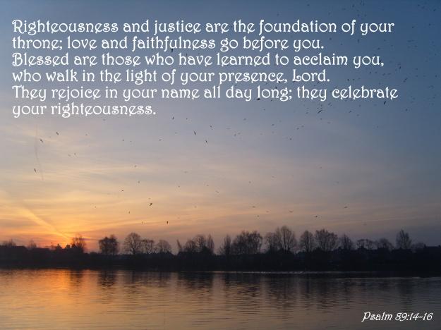 Psalm 89:14-16