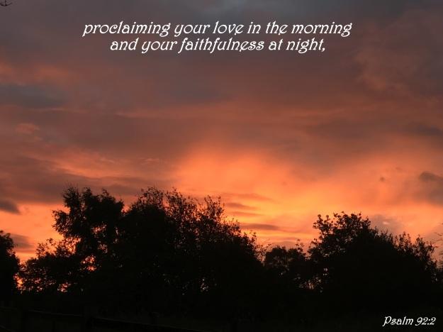 Psalm 92:2