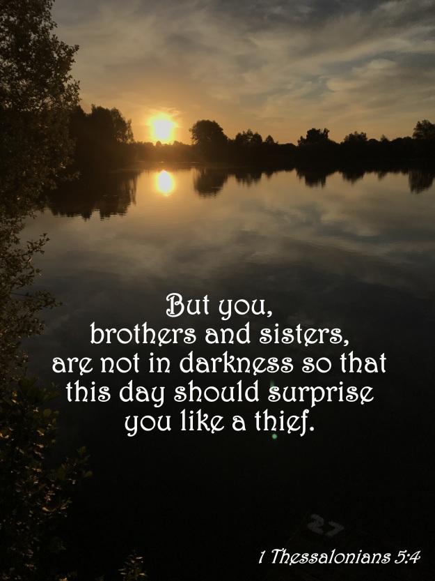1 Thessalonians 5:4