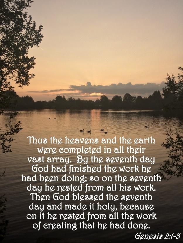 Genesis 2:1-3