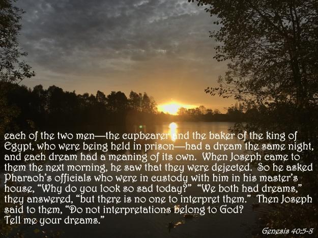 Genesis 40:5-8