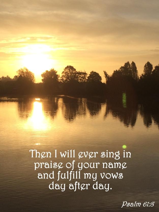 Psalm 61:8