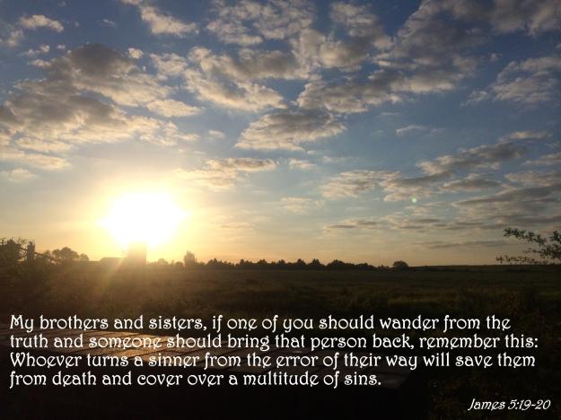 James 5:19-20