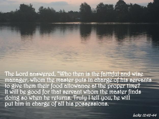 Luke 12:42-44
