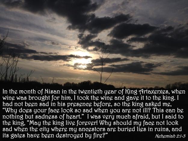 Nehemiah 2:1-3