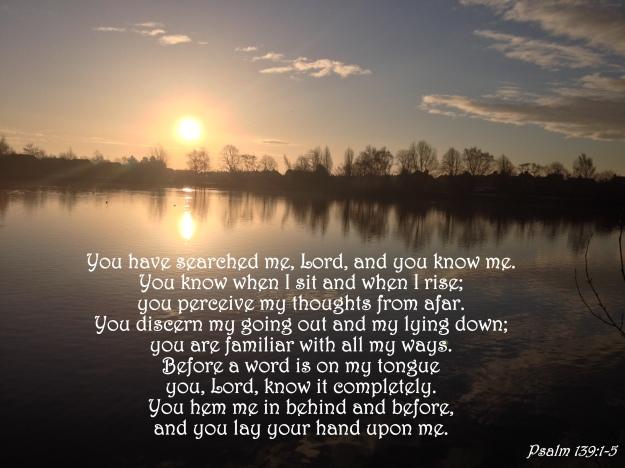 Psalm 139:1-5