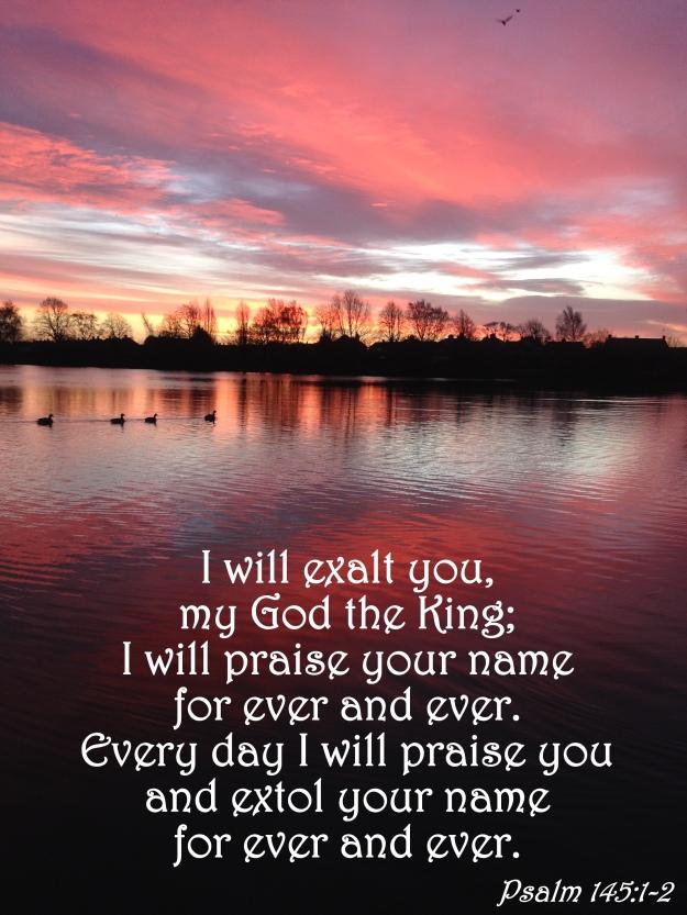 Psalm 145:1-2