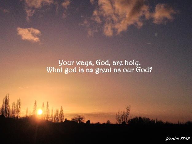 Psalm 77:13