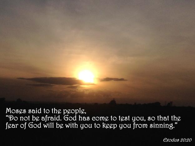Exodus 20:20