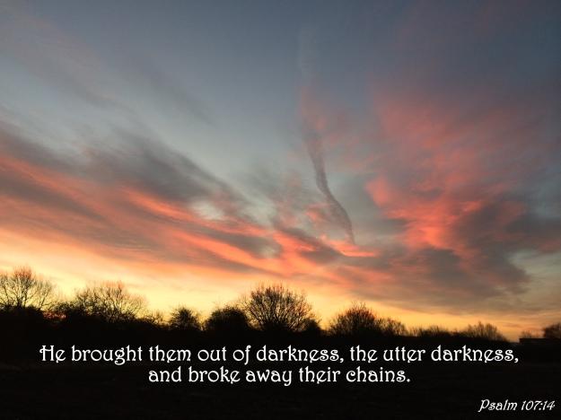 Psalm 107:14