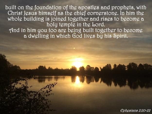 Ephesians 2 20-22